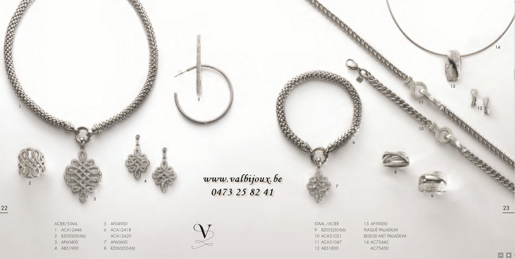 Collection bijoux victoria